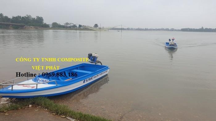 Xưởng ghe thuyền Composite Hà Nội  Việt Phát Thuyền cứu trợ lũ lụt, thuyền cứu hộ  thiện nguyện   -09698831867
