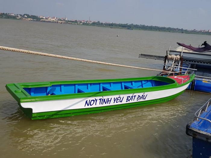 Xưởng ghe thuyền Composite Hà Nội  Việt Phát Thuyền cứu trợ lũ lụt, thuyền cứu hộ  thiện nguyện   -096988318613