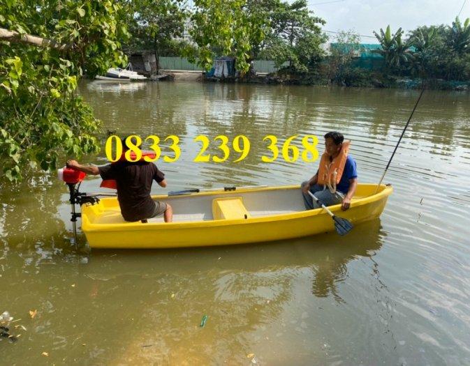 Thuyền câu cá cho 3 người, Thuyền chèo tay, thuyền gắn động cơ, áo phao7