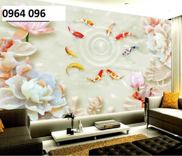 Tranh hoa ngọc - gạch tranh 3d hoa ngọc - TN660