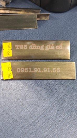 Nẹp đồng chữ T - Nẹp đồng T20 - Nẹp đồng T25 - Nẹp đồng T301