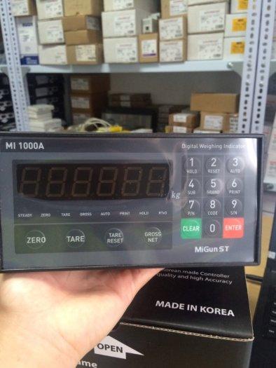 MI1000A Đầu cân điện tử chuyên dùng cho cân xe tải, cân sàn, cân bàn...Bảng Giá Tốt Nhất 2021 tại đây3