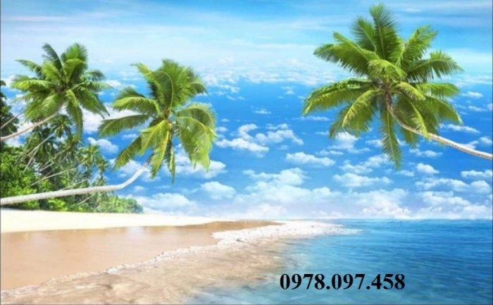 Tranh ốp tường - tranh bãi biển0