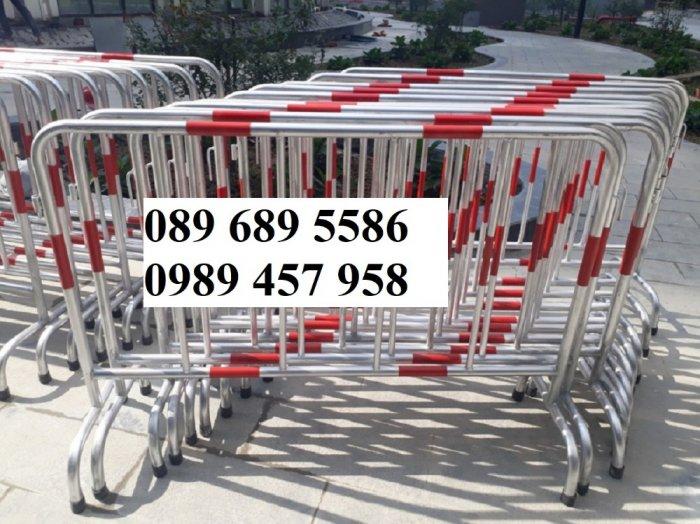 Gia công Khung hàng rào di động gắn bánh xe 1mx2m, 1,2mx2m, 1,5mx 2m9