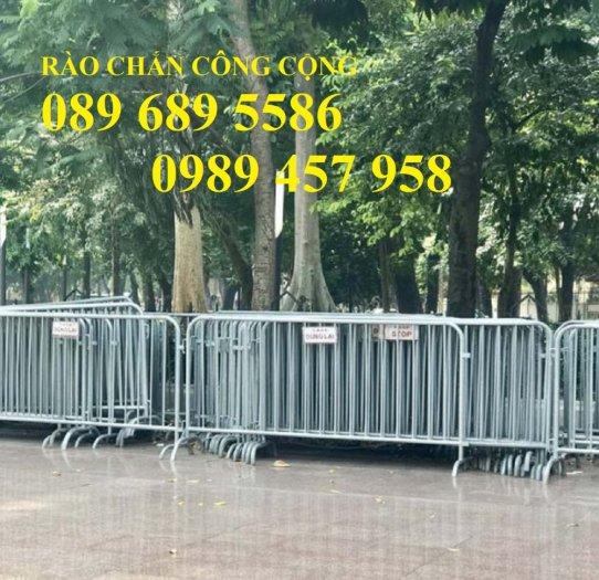 Gia công Khung hàng rào di động gắn bánh xe 1mx2m, 1,2mx2m, 1,5mx 2m8