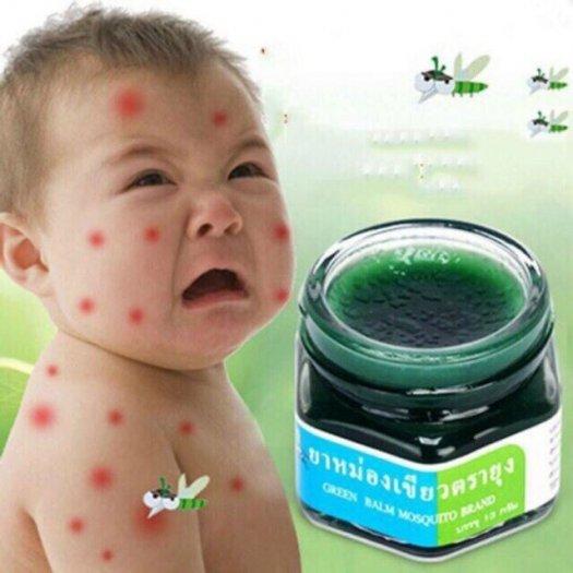 Dầu thoa trị muỗi đốt Mosquito Balm Thái Lan cho bé1
