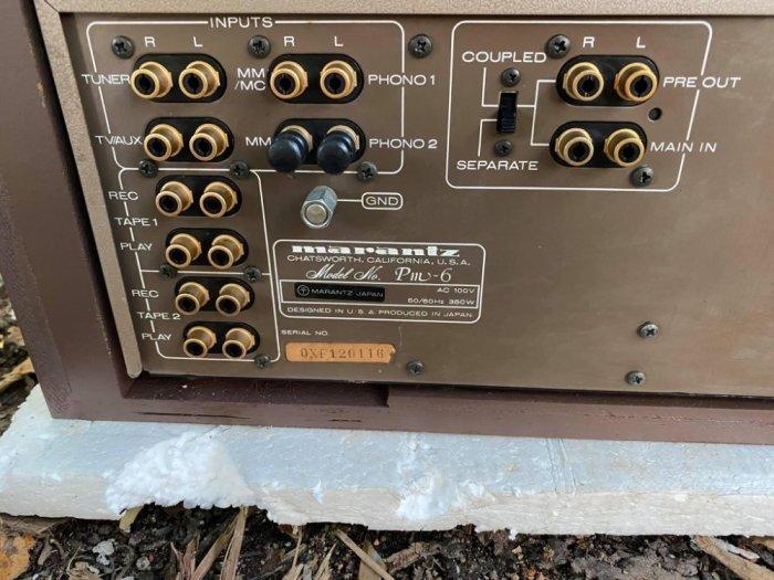 AMPLI Marantz PM-6 ESOTEC Màu Vàng chanh JAPAN0