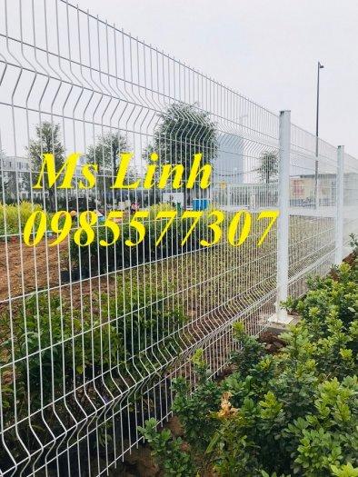 Lưới hàng rào uốn sóng,hàng rào gập đầu tam giác,hàng rào mạ kẽm sơn tĩnh điện6