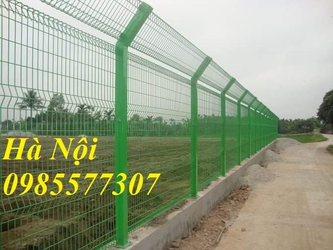 Lưới hàng rào uốn sóng,hàng rào gập đầu tam giác,hàng rào mạ kẽm sơn tĩnh điện5