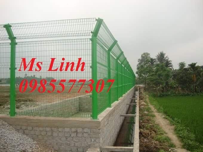 Lưới hàng rào uốn sóng,hàng rào gập đầu tam giác,hàng rào mạ kẽm sơn tĩnh điện0