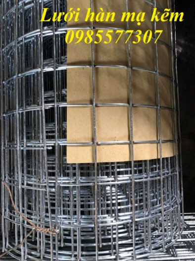 Lưới thép hàn mạ kẽm D3 a50 x 50, hàng có sẵn giá tốt10