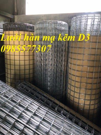 Lưới thép hàn mạ kẽm D3 a50 x 50, hàng có sẵn giá tốt6