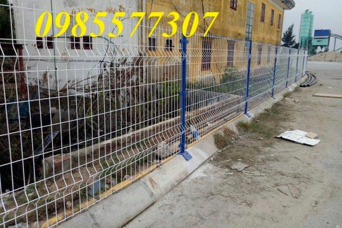 Lưới hàng rào mạ kẽm, hàng rào sơn tĩnh điện, hàng rào bọc nhựa giá tốt nhất6