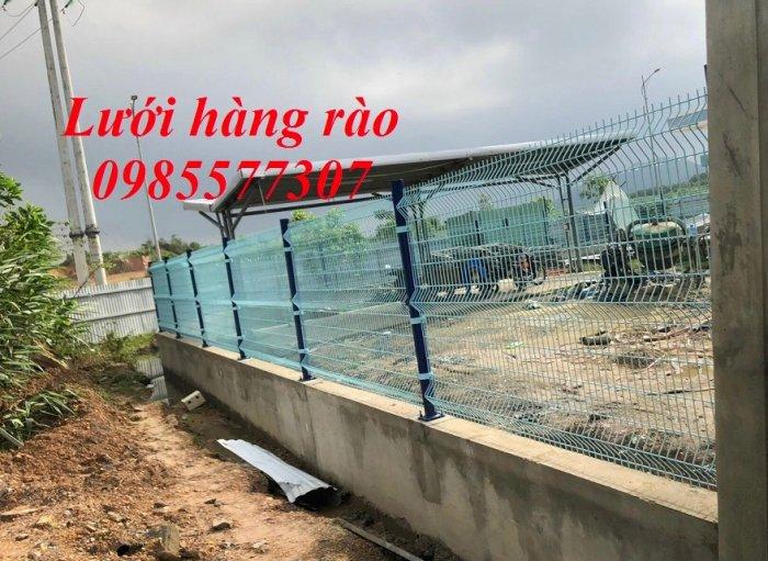 Lưới hàng rào mạ kẽm, hàng rào sơn tĩnh điện, hàng rào bọc nhựa giá tốt nhất5
