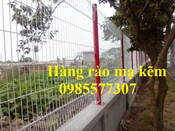 Lưới hàng rào mạ kẽm, hàng rào sơn tĩnh điện, hàng rào bọc nhựa giá tốt nhất2