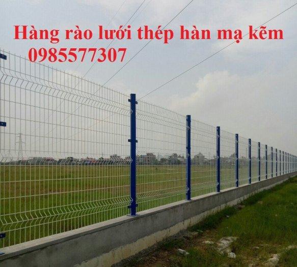 Lưới hàng rào mạ kẽm, hàng rào sơn tĩnh điện, hàng rào bọc nhựa giá tốt nhất1