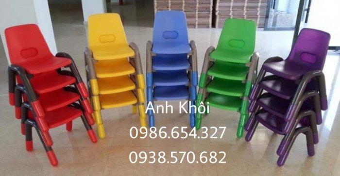 Ghế nhựa đúc mầm non,ghế nhựa trẻ em cao cấp