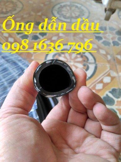 Ống cao su dẫn dầu đen trơn phi 6mm18
