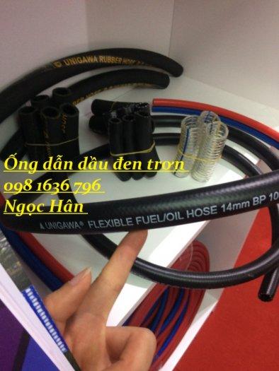 Ống cao su dẫn dầu đen trơn phi 6mm10