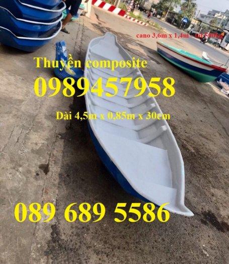 Thuyền nhựa 3m, Thuyền composite 2,4m 3m, 3,5m 4m, 4,6m 5m - Thuyền chèo tay5