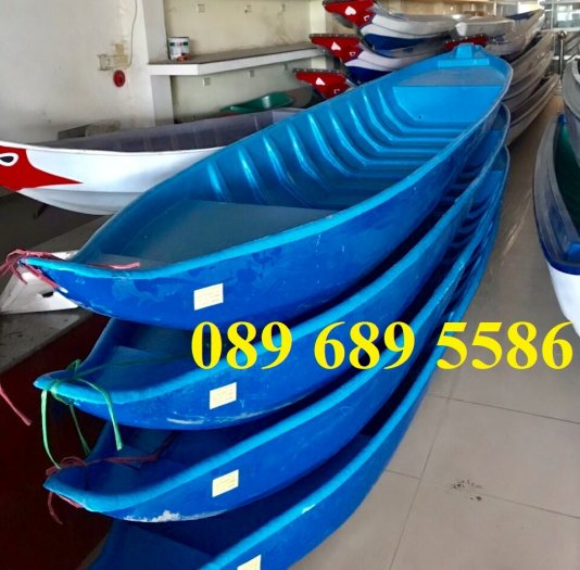 Thuyền nhựa 3m, Thuyền composite 2,4m 3m, 3,5m 4m, 4,6m 5m - Thuyền chèo tay4