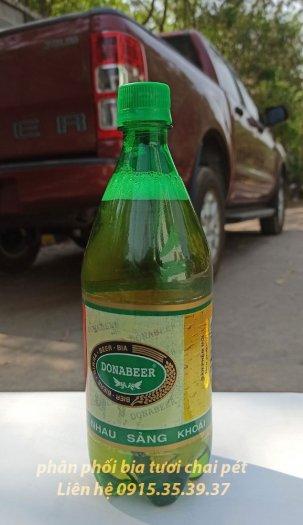 Cung cấp bia tươi chai pét nhựa, bia hơi chai pét, bia tươi donabeer4