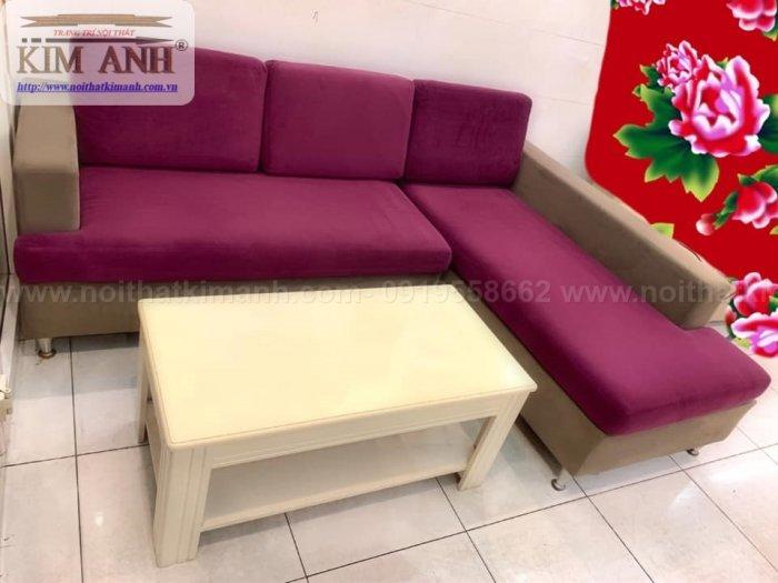 Ghế sofa chung cư phòng khách nhỏ giá rẻ sang trọng đẹp hiện đại tại TPHCM10