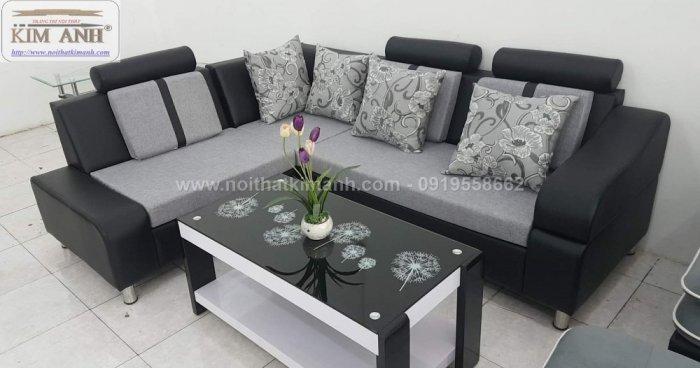 Ghế sofa chung cư phòng khách nhỏ giá rẻ sang trọng đẹp hiện đại tại TPHCM0
