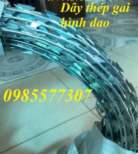 Cung cấp và thi công dây thép gai hình dao chống trộm giá rẻ tại Hà Nội6