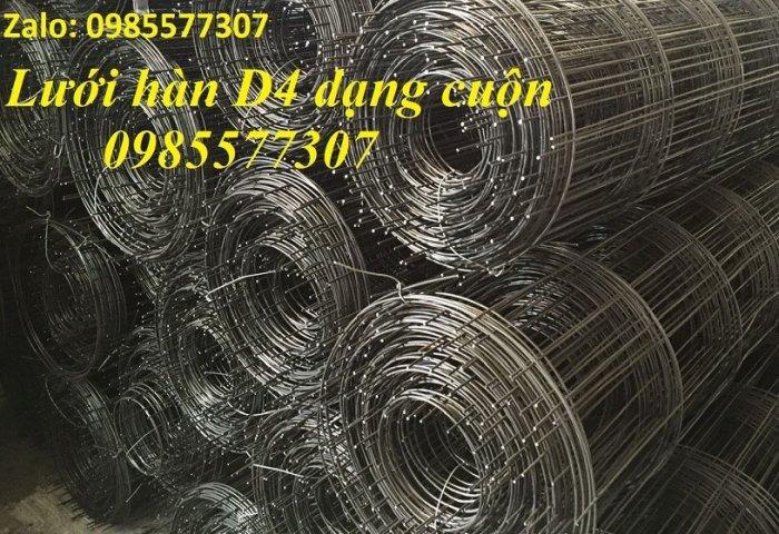 Lưới thép hàn D4 a 200 x 200, D4 a 100 x 100 giá tốt,hàng có sẵn tại Hà Nội6