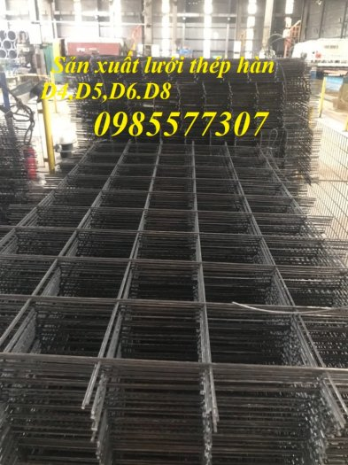 Lưới thép hàn D4 a 200 x 200, D4 a 100 x 100 giá tốt,hàng có sẵn tại Hà Nội5