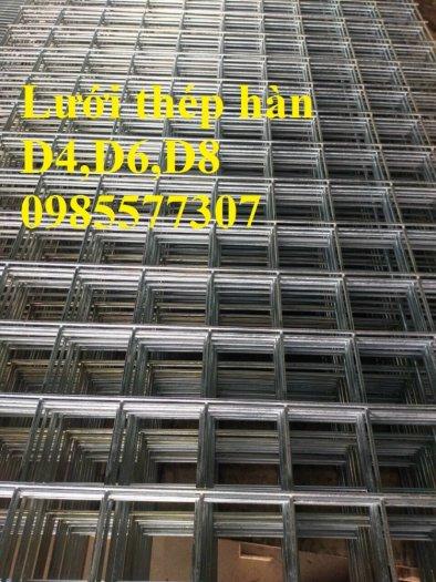 Lưới thép hàn D4 a 200 x 200, D4 a 100 x 100 giá tốt,hàng có sẵn tại Hà Nội1