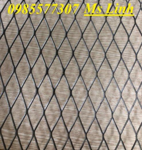 Sản xuất lưới thép dập giãn, lưới hình thoi, lưới quả trám dùng trang trí, bảo vệ trong công trình xây dựng5