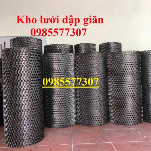 Sản xuất lưới thép dập giãn, lưới hình thoi, lưới quả trám dùng trang trí, bảo vệ trong công trình xây dựng2