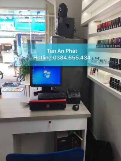 Bán máy tính tiền cho tiệm nail tại bắc giang0