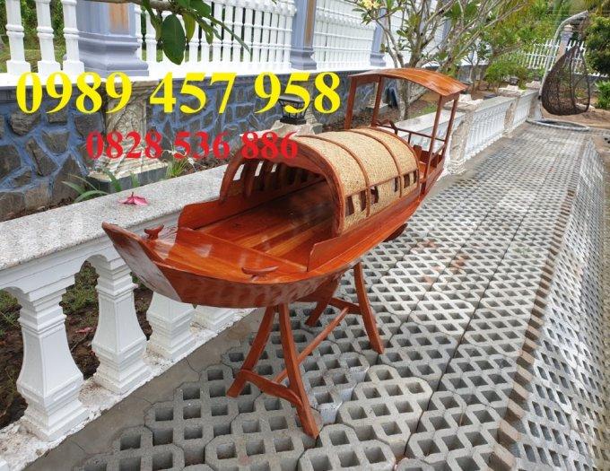 Đóng thuyền gỗ ba lá 3m, Thuyền 3,5m, Thuyền trang trí 4m theo yêu cầu8