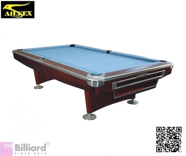 [Bàn bida Lỗ/ Pool Table] Bàn bida Aileex 9019 màu Nâu11