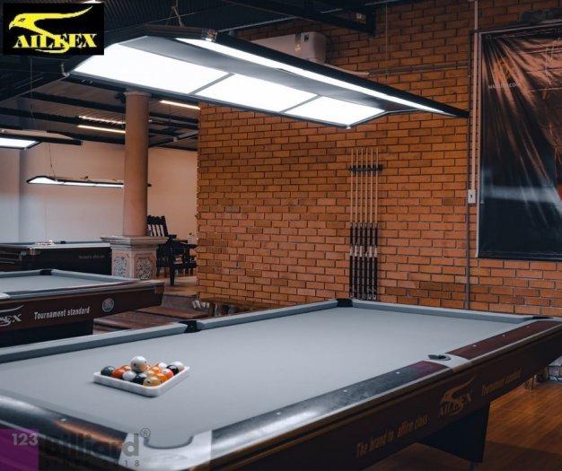 [Bàn bida Lỗ/ Pool Table] Bàn bida Aileex 9019 màu Nâu9