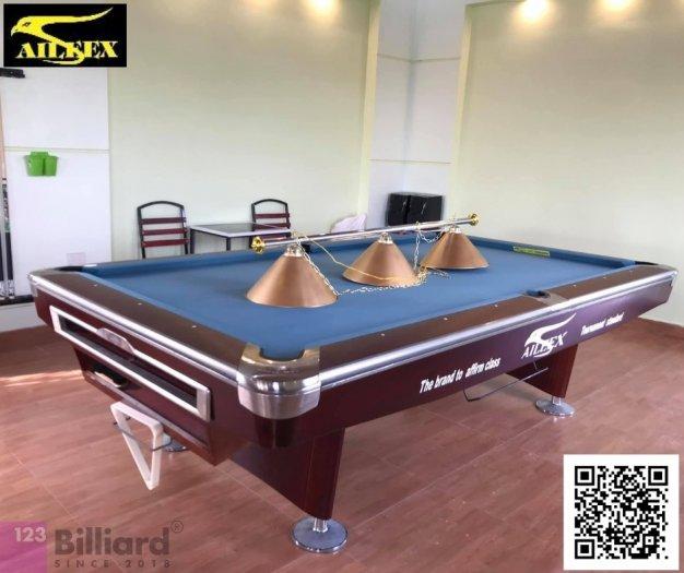 [Bàn bida Lỗ/ Pool Table] Bàn bida Aileex 9019 màu Nâu4