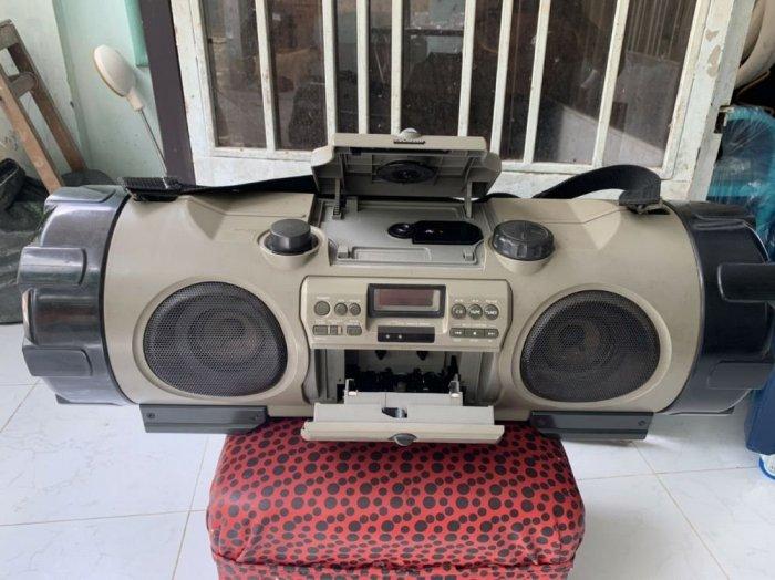 Đài RADIO CD&CASSEETE VICTOR RV-X70 ( trống cơm )1