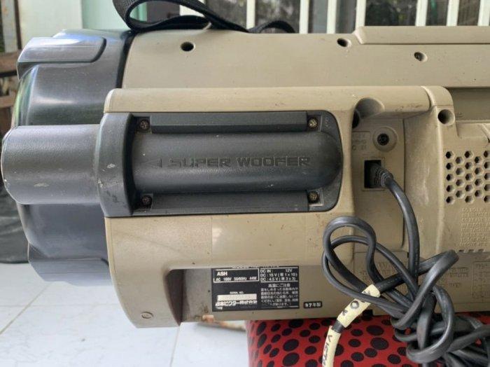 Đài RADIO CD&CASSEETE VICTOR RV-X70 ( trống cơm )4