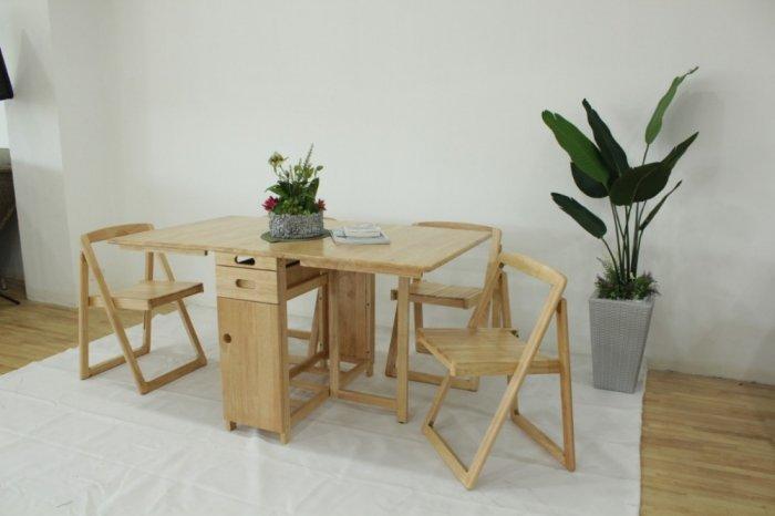Bộ bàn ăn mini thông minh gấp gọn giá rẻ đẹp hiện đại cho nhà bếp tại Thành phố Hồ Chí Minh5