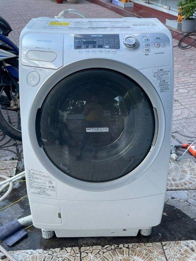 Máy giặt nội địa TOSHIBA TW-Q780R giặt 9kg sấy 6kg sấy block đời 20109