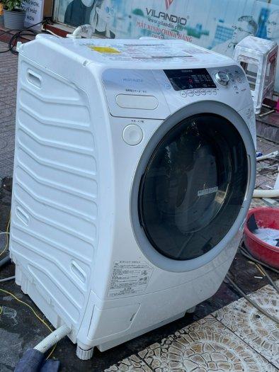 Máy giặt nội địa TOSHIBA TW-Q780R giặt 9kg sấy 6kg sấy block đời 20108