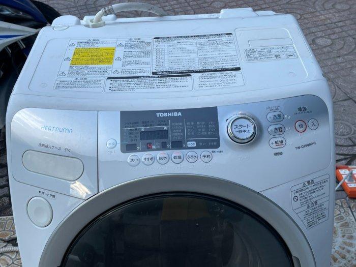Máy giặt nội địa TOSHIBA TW-Q780R giặt 9kg sấy 6kg sấy block đời 20106