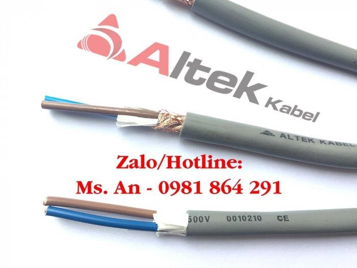 Cáp điều khiển 2c x 0.5/0.75/1.0/1.5mm2 Altek Kabel2