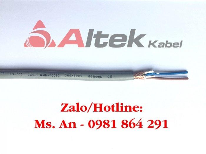 Cáp điều khiển 2c x 0.5/0.75/1.0/1.5mm2 Altek Kabel1