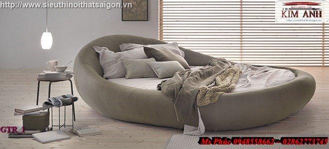 Giường tròn hiện đại, sang trọng cho phòng ngủ tại Bình Dương11