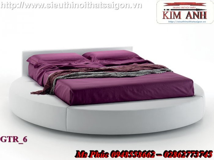 Giường tròn hiện đại, sang trọng cho phòng ngủ tại Bình Dương6