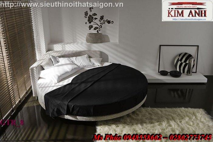Giường tròn hiện đại, sang trọng cho phòng ngủ tại Bình Dương5